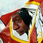 Crying Jordan Redskins Flag