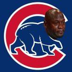 Cubs crying jordan