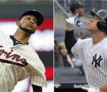 Ervin Santana Aaron Judge