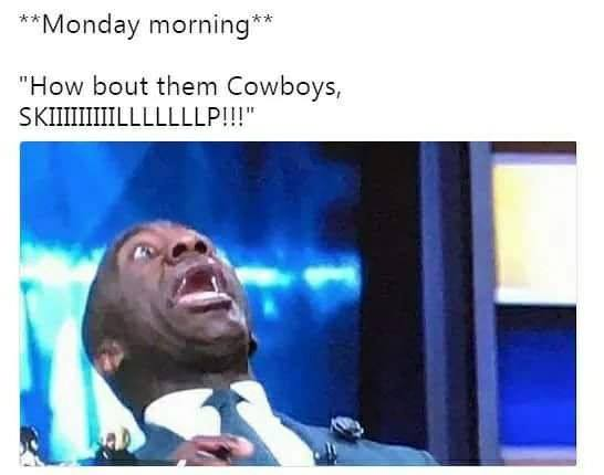 How bout them cowboys skip