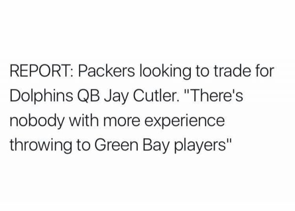 Jay Cutler Packers
