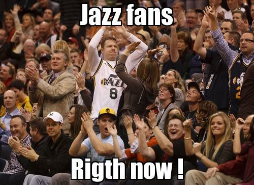 Jazz Fans Right Now