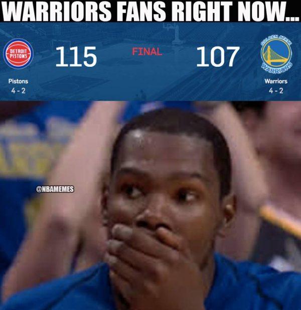 KD can't believe it