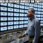 KD on Twitter