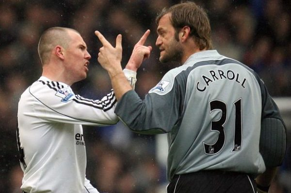 Kenny Miller, Roy Carroll