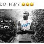 Kevin Durant Dodgers
