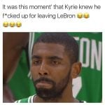 Kyrie knew he fucked up