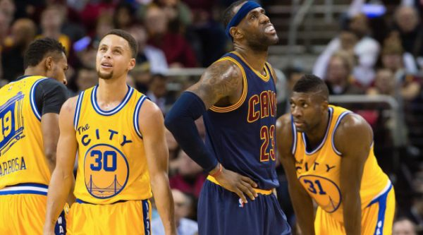 LeBron James vs Warriors