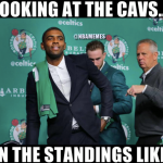 Looking at the Cavs