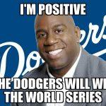 Magic Johnson Positive