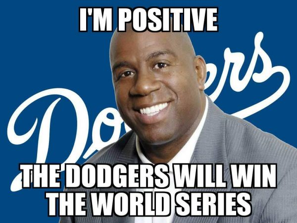 Magic Johnson Positive