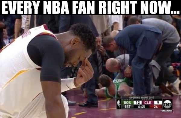 NBA Fans Right Now