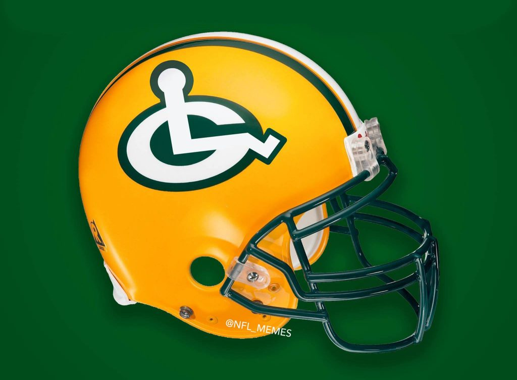 New Packers Helmet