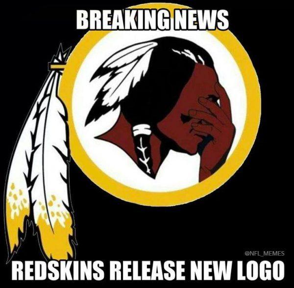 New Redskins Logo