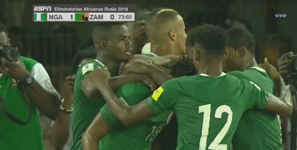 Nigeria beat Zambia