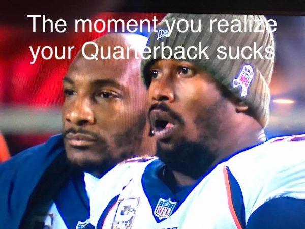 Our QB sucks