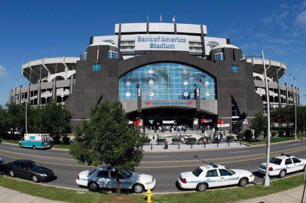 Panthers Stadium Crying Jordan