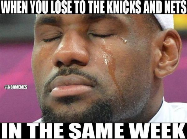 Same week losses Nets Knicks