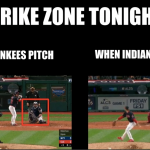 Strike Zone difference