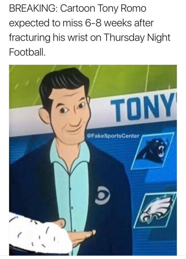 Tony Romo TNF