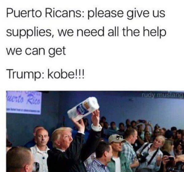 Trump Kobe
