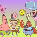 Warriors Sponge Bob