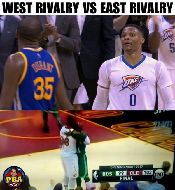 West vs East Rivalry