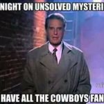 Where have the Cowboys fans gone