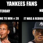 Yankees Excuses