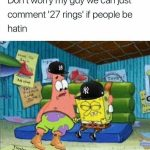 Yankees Spongebob