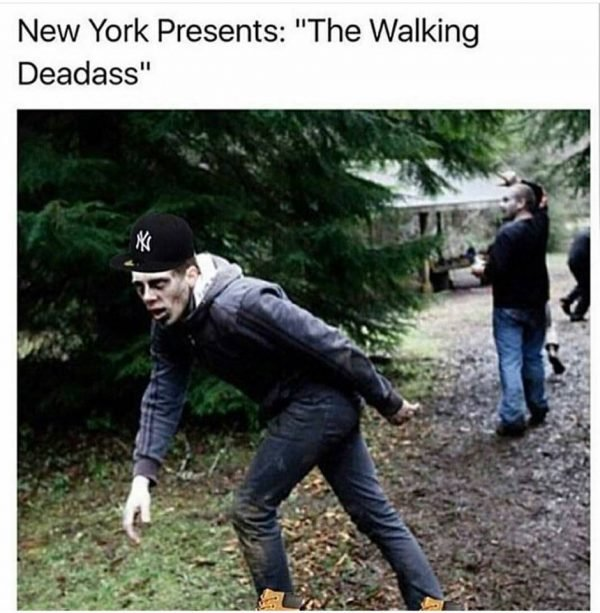 Yankees Walking Dead