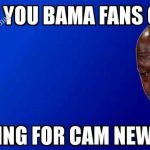Asking for Cam Newton