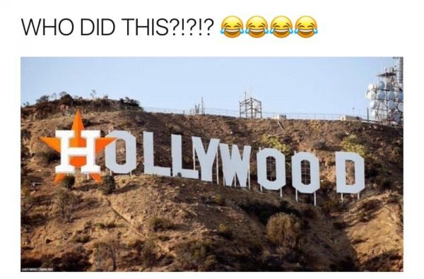 Astros Hollywood