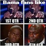 Bama Fans Be Like