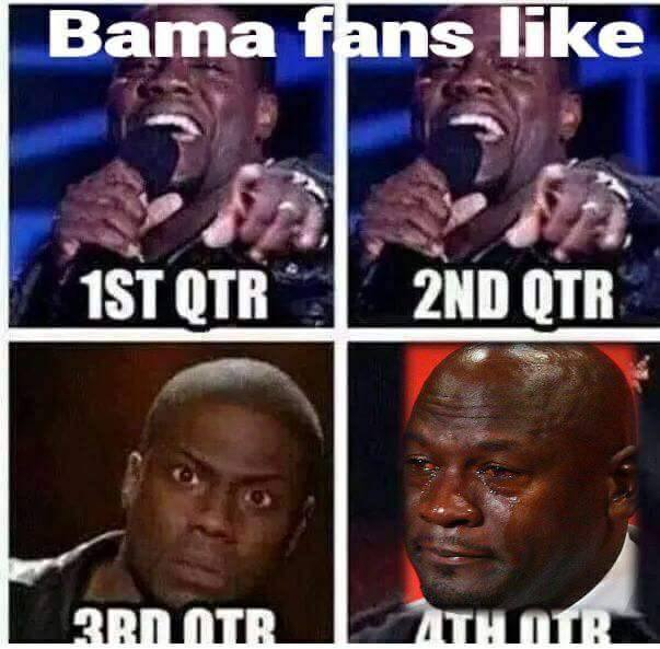 Bama Fans Be Like