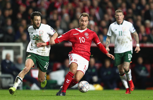 Christian Eriksen vs Ireland