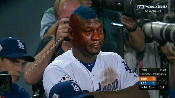 Crying Jordan Dodgers Player
