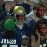 Crying Jordan ND Fans