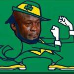 Crying Jordan ND Leprechaun