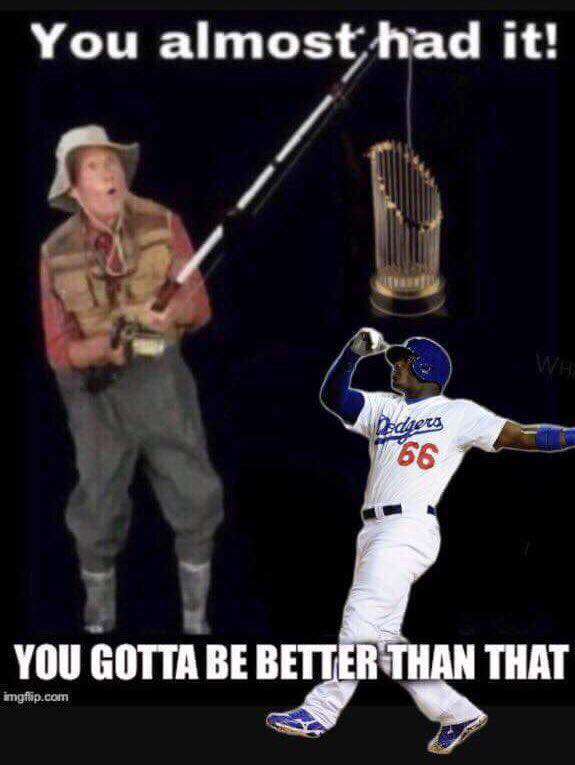 DOdgers almost had it