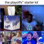 Dodgers fan starter kit