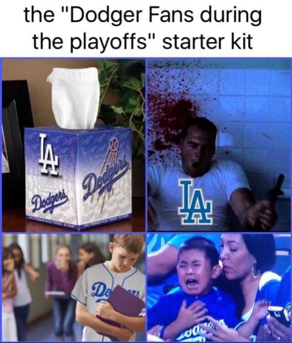 Dodgers fan starter kit