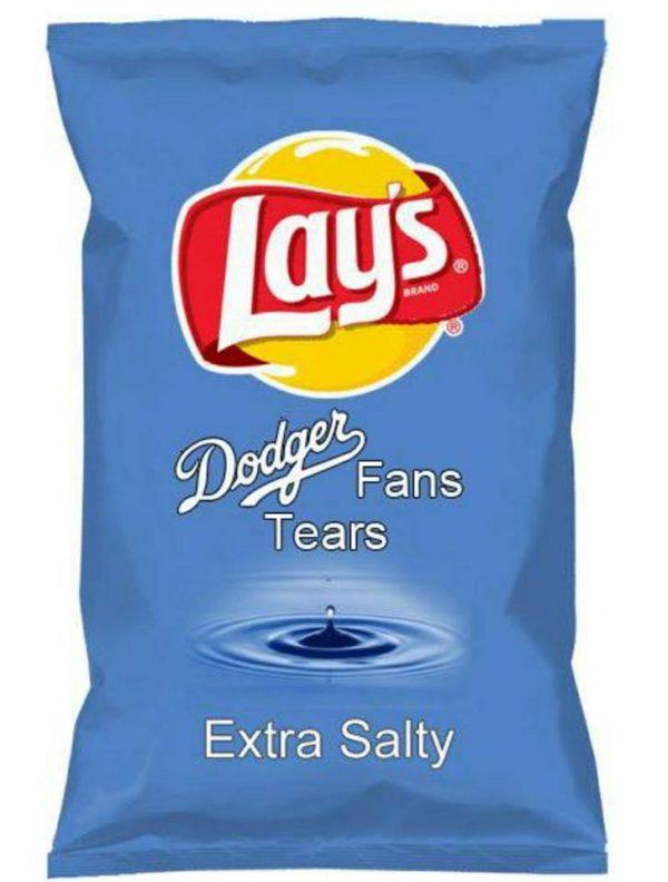 Dodgers fans salty
