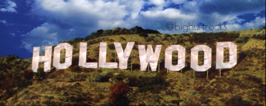 Hollywood Sign Crying Jordan