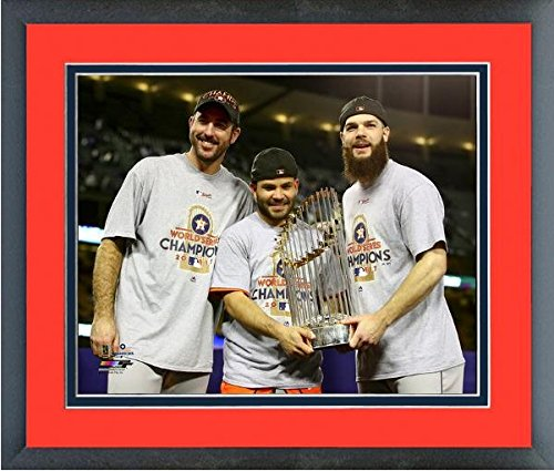 Houston Astros Winning the World Series Photo