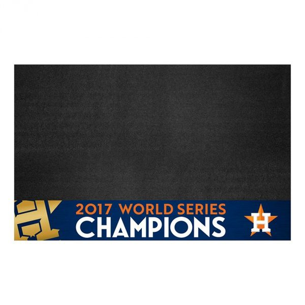 Houston Astros World Series Champions Grill Mat