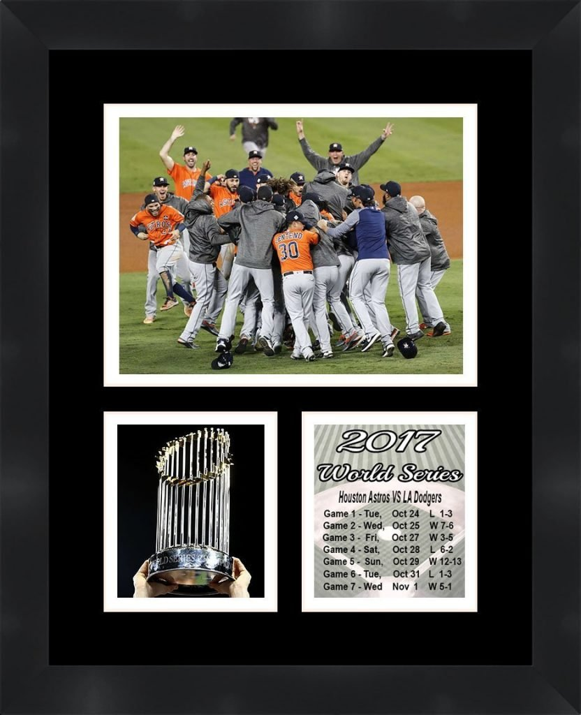 Houston Astros World Series Champions Photo Collage