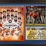 Houston Astros World Series Champions Photo Frame