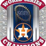 Houston Astros World Series Champions Pin