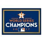 Houston Astros World Series Champions Rug